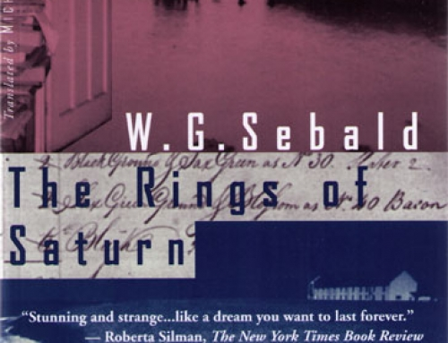 W.G. Sebald: The Rings of Saturn