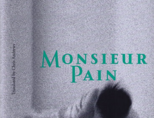 My First Blog Giveaway: Roberto Bolaño's Monsieur Pain
