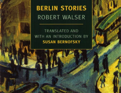 Robert Walser: Berlin Stories