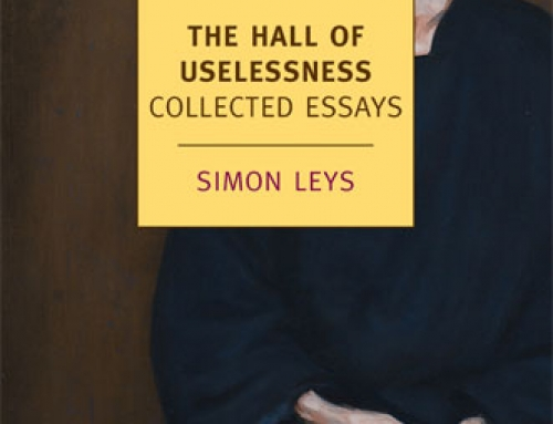 Simon Leys: The Hall of Uselessness
