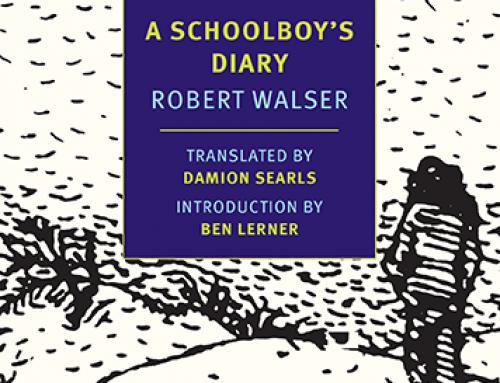 Robert Walser: A Schoolboy's Diary
