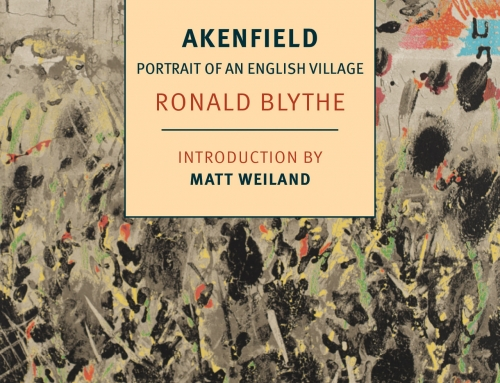 NYRB Classics October Book Club: Ronald Blythe's Akenfield: Portrait of an English Village