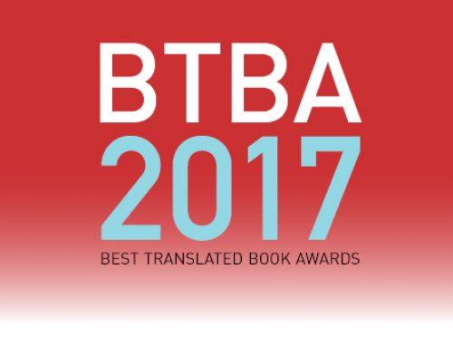 The 2017 Best Translated Book Award Winner!
