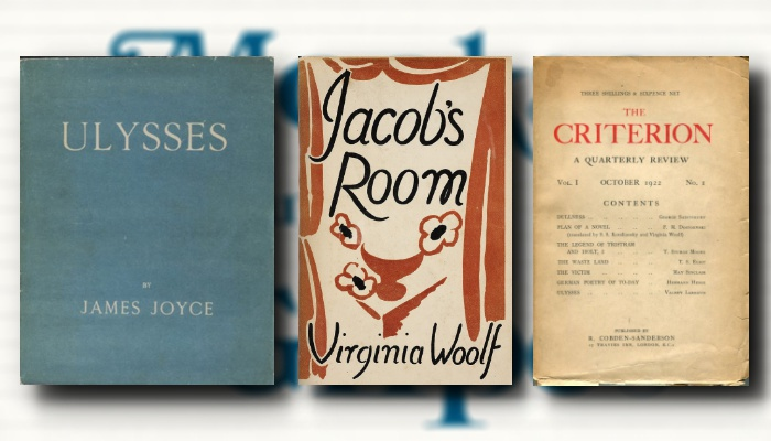 Episode 4. The Literary Annus Mirabilis: James Joyce, Virginia Woolf, and T.S. Eliot in 1922