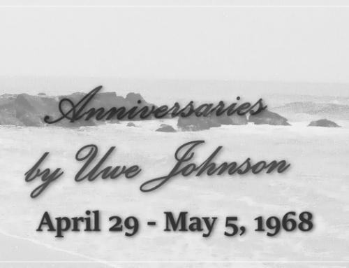 Anniversaries Readalong: April 29 – May 5, 1968