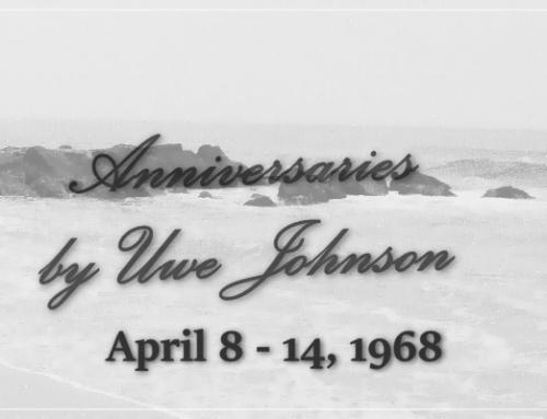 Anniversaries Readalong: April 8 – 14, 1968