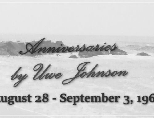 Anniversaries Readalong: August 28 – September 3, 1967