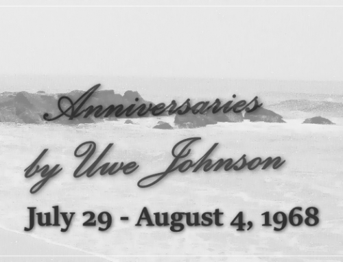 Anniversaries Readalong: July 29 – August 4, 1968