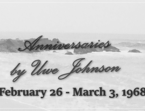 Anniversaries Readalong: February 26 – March 3, 1968