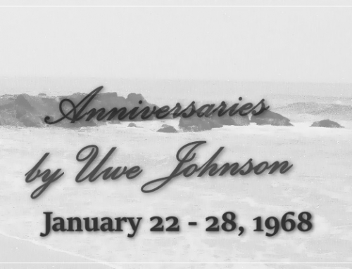 Anniversaries Readalong: January 22 – 28, 1968