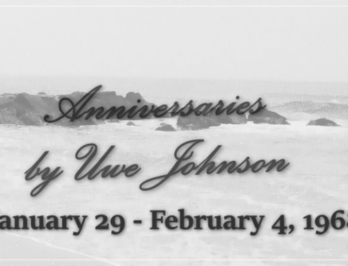 Anniversaries Readalong: January 29 – February 4, 1968