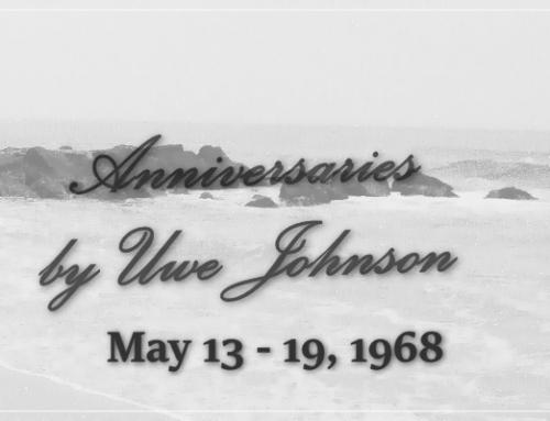 Anniversaries Readalong: May 13 – 19, 1968