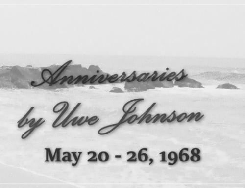 Anniversaries Readalong: May 20 – 26, 1968