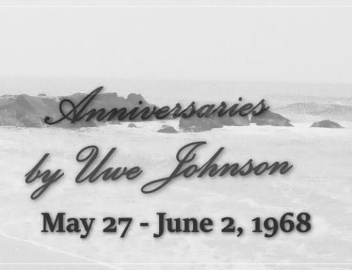 Anniversaries Readalong: May 27 – June 2, 1968