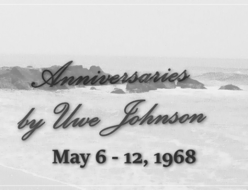 Anniversaries Readalong: May 6 – 12, 1968