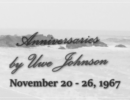 Anniversaries Readalong: November 20 – 26, 1967