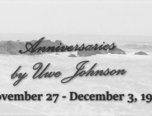 Anniversaries Readalong: November 27 – December 3, 1967