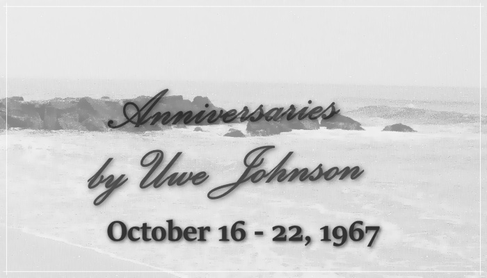 Anniversaries Readalong: October 16 – 22, 1967