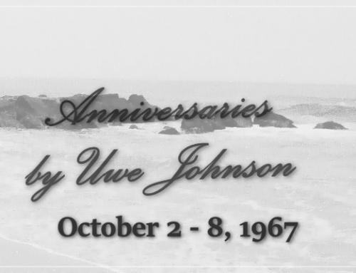 Anniversaries Readalong: October 2 – 8, 1967