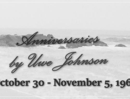Anniversaries Readalong: October 30 – November 5, 1967