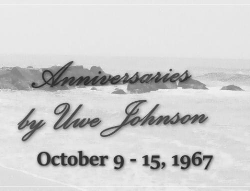 Anniversaries Readalong: October 9 – 15, 1967