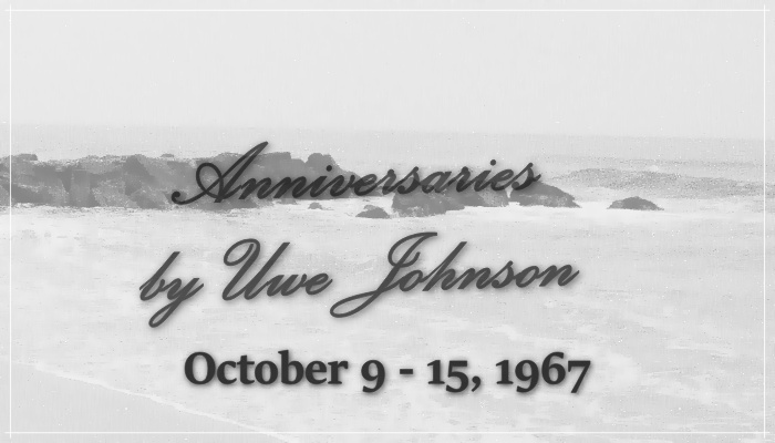 Anniversaries Readalong: October 9 – 15, 1967