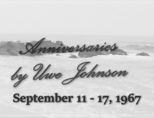 Anniversaries Readalong: September 11 – 17, 1967