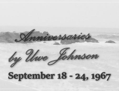 Anniversaries Readalong: September 18 – 24, 1967