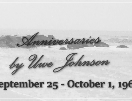 Anniversaries Readalong: September 25 – October 1, 1967