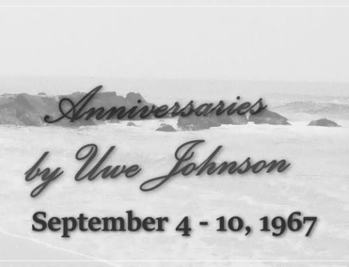 Anniversaries Readalong: September 4 – 10, 1967
